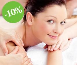 10% скидка на массаж
