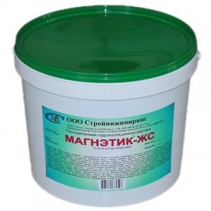 Гидроизоляция Магнэтик-ЖС коричневая, желтая, розовая, синяя, зеленая (комплект 6кг)
