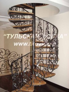 Ковка перил и винтовых лестниц