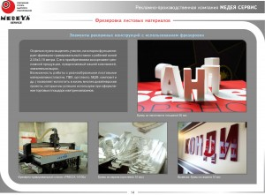 Рекламные изделия из ПВХ, композита и оргстекла