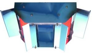 Газовый инфракрасный обогреватель 216XLA (14 кВт) SBM Франция