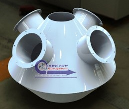 Аспирационные коллекторы на различную производительность по воздуху. Серия 5.904-37