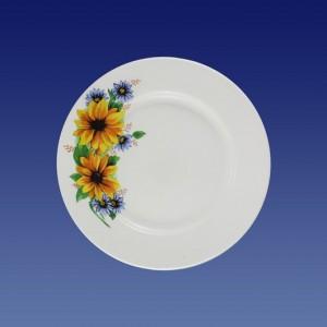 """Тарелка мелкая 175мм, гр. 8, """"Желтый цветок"""""""