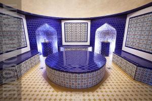 Турецкая баня Хамам с бассейном