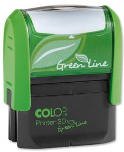 Штамп Printer 30 Green Line, клише-полимер