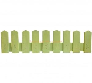 Заборчики для клумб в деревенском стиле infrus.ru