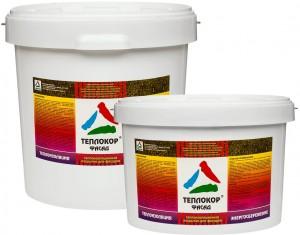 Теплокор-Фасад - жидкая керамическая теплоизоляция фасадов