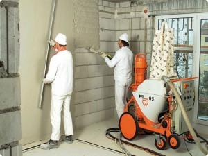 Штукатурка стен и штукатурка стен механизированным способом в Москве infrus.ru