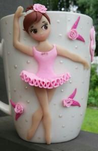 """3D-кружка """"Балерина"""""""