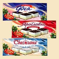 Лукумные торты в ассортименте