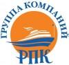 Логотип ГРУППА КОМПАНИЙ РПК, речные круизы, прогулочный флот для проведения праздников, прогулки по Москве-реке